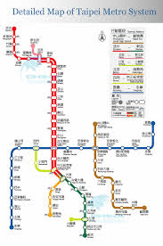 Metro Map Silver Line by Taipei Subway Map 2009 Taipei Mrt Map 2010