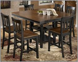 Bar Height Dining Table With  Chairs Chairs  Home Decorating - Bar height dining table with 8 chairs