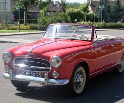 peugeot classic cars classic car 1959 peugeot 403 convertible for sale with french