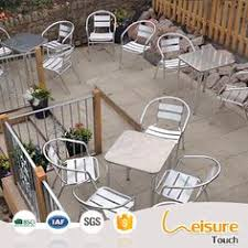 outdoor aluminum chairs restaurant table and chair sets