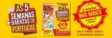 si e social intermarch as 5 semanas mais baratas de portugal intermarché