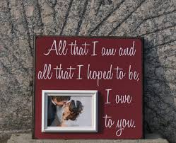 wedding quotes etsy all that i am custom wedding frame anniversary of