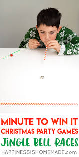 Games To Play In Christmas Parties - christmas minute to win it games happiness is homemade