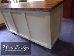 kitchen island antique beautiful industrial farmhouse solid wood and antique
