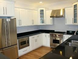white shaker kitchen cabinets with grey island images ideas