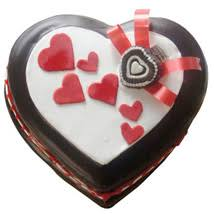 valentine cakes online send valentines day cake ferns n petals