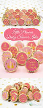 Pink And Gold Baby Shower Decorations by 25 Best Princess Baby Shower Images On Pinterest Princess Baby