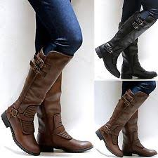 womens boots quilted black quilted boots ebay