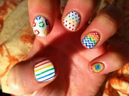 rainbow nail polish design rainbow nail designs u2013 nail laque and