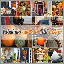 Best 25 Outdoor fall decorations ideas on Pinterest