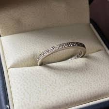 52nd wedding band jean francois albert classic 18k white ylw gold pave wedding set