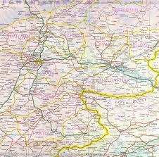kabul map city map of kabul historic khyber pass itm mapscompany
