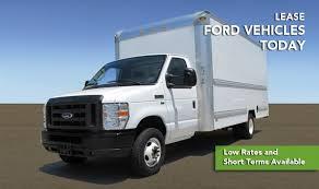 lease ford trucks penske offers special lease program on ford box trucks