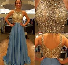 blue prom dress long prom dress sequins prom dress 2015 prom