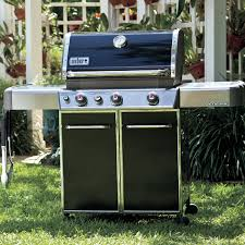 Backyard Grill 4 Burner Gas Grill by Weber Genesis E 330 Freestanding Natural Gas Grill With Sear