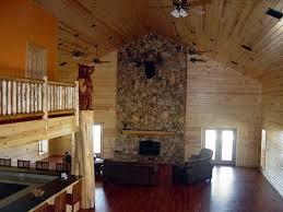 Log Siding For Interior Walls Pine Log Siding Ranch House Buffalo Lumber