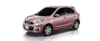 nissan pink nissan march nissan motor thailand