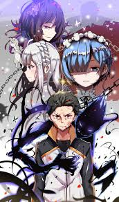 subaru and emilia 131 best re zero images on pinterest subaru anime art and zero