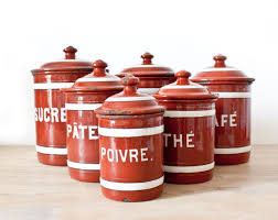 White Kitchen Canisters Sets by Red Kitchen Canister Sets Kitchen Ideas