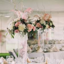 Feather And Flower Centerpieces by 27 Best Dusty Rose Wedding Flowers Images On Pinterest Dusty