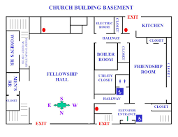 Church Fellowship Hall Floor Plans Map Of The Church Trinity United Methodist Church