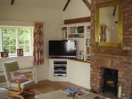 Narrow Corner Bookcase by Top 25 Best Corner Tv Stands Ideas On Pinterest Corner Tv