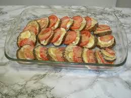 cuisiner aubergine four recette aubergines au four la recette facile