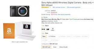olympus camera black friday amazon sony a6000 bundle deals cheapest price mirrorless deal part 2