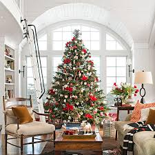 christmas decorating traditional home