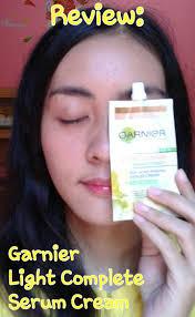 Berapa Serum Garnier dessy journal review garnier light complete white speed multi