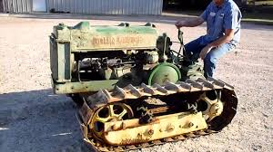 bo lindeman john deere dozer crawler tractor 1940 u0027s for sale
