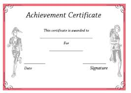 19 athletic certificate templates for schools u0026 clubs free