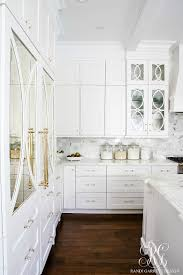 Cabinets With Hardware Photos by Dark To Light Kitchen Before And After Elegant White Kitchen Reveal
