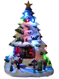 christmas tree ceramic mold christmas lights decoration