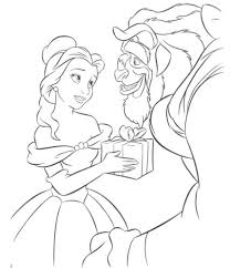 98 belle christmas coloring disney tangled coloring