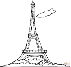 coloring pages french breadedcat free printable inside france