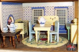 Kitchen Dollhouse Furniture by My Vintage Dollhouses Schoenhut Versus Converse