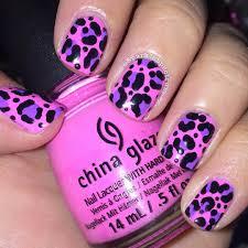 cheetah nails art nails nails art