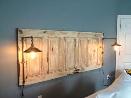 diy headboard with lights king size natural headboard with lights headboard pinterest