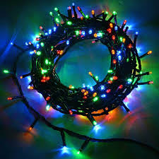 50 led tree lights string with chasing static