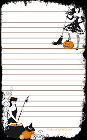 free halloween stationery 5 designs backgrounds www