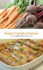 How To Make Roasted Vegetables by Vegetable Enchiladas