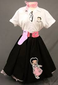 Car Hop Halloween Costume Betty Boop Poodle Skirt Betty Boop