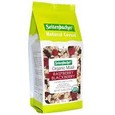 amazon com seitenbacher muesli cereal usda organic raspberry