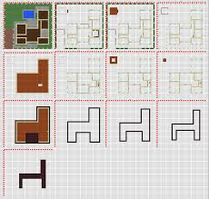 10 minecraft modern house layer by modern house blueprints layer