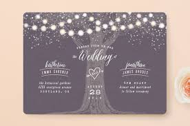 garden lights wedding invitations by hooray creative minted