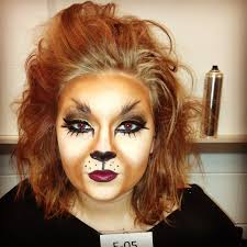 lion face makeup face makeup ideas