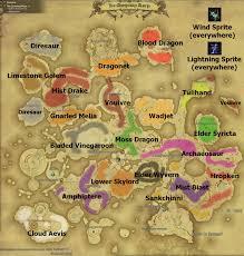 Final Fantasy 1 World Map by Ffxiv Map Aleczan U0027s New Diary Ffxiv Arr