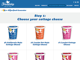 Friendship Cottage Cheese Nutrition by Partners Napier