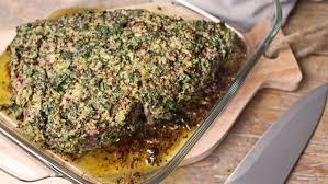 cuisiner roti de boeuf recette de rôti de bœuf en persillade auchan et moi
